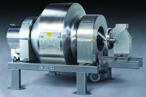 Rotary Batch Mixer for Sanitary, Pharmaceutical, Nutraceutical blending