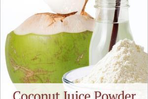 Coconut Juice Powder (organic) - Nutra Organics