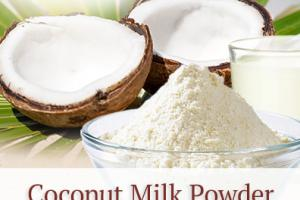 Coconut Milk Powder (organic, vegan) - Nutra Organics