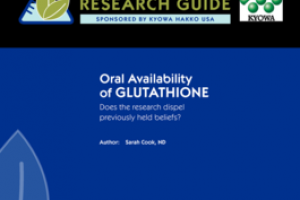 Science deep dive: glutathione and oral availability
