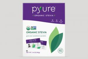 Organic Stevia Sweetener – 40 Packets | Pyure Brands