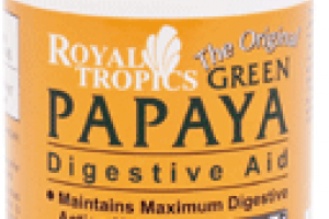 Weight-loss diet - Green Papaya is the perfect additive for a healthy weight loss program. Full of Digestive Enzymes.