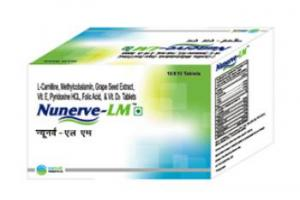 NUNERVE-LM | Natural Treatment for Muscles Cramps, Diabetes, Cardiovascular Diseases, Fatigue, Weakness