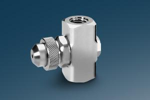 Automatic spray nozzles for precise intermittent spraying