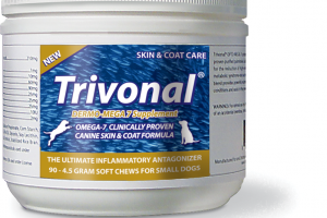 Trivonal Dermo-Mega 7 - Pet Skin and Coat Soft Chew Supplement – Omega Wonders