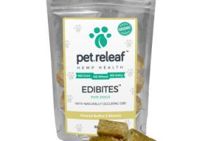 CBD Dog Treats -Hemp Oil Edibites with Carob/Coconut Flavor | Elixinol