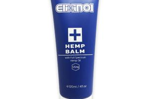 Topical CBD Hemp Balm - Natural Skin Moisturizer & Aftersun | Elixinol