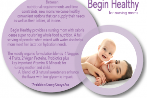 Begin Healthy Nursing Moms Drink Formulation For Private Label