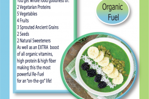 organic whole food high nutrition formulation available for private label