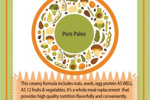 Pure Paleo Formulation for private label