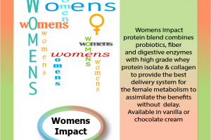 Women's Impact protein blend