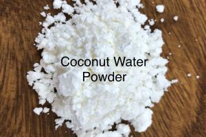 organic coconut water powder