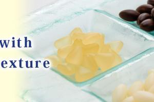 Capsule with gummy texture | Fuji Capsule Co., Ltd.