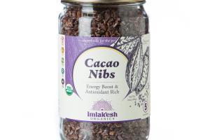 Organic Cacao Nibs | Imlak'esh Organics