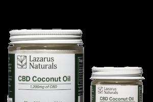 CBD Coconut Oil | Vegan and Gluten Free | Lazarus Naturals