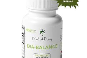 DIA-BALANCE CBD – Diabetes Support – Medical Mary LLC