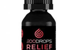 ECODROPS Relief 1500mg Active CBD