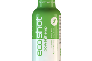 CBD Drip Ecoshot Energy drink contains essential vitamins and 25mg of CBD