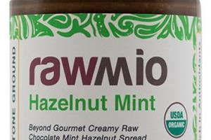 Rawmio Mint - Beyond Gourmet Raw Chocolate Hazelnut Mint Spread - 6 oz