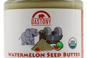 Stone Ground Organic Raw Watermelon Seed Butter - 8 oz