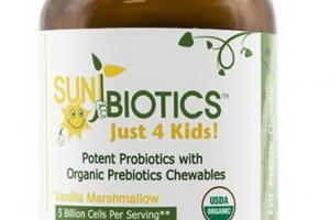 Vanilla Probiotic with Prebiotics Tablets