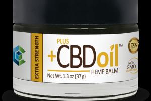 CBD Oil Balm - Extra Strength by Plus CBD Oil™