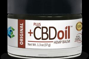CBD Oil Balm by CBD Market Leader Plus CBD Oil™