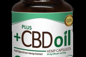 CBD Oil Capsules by market leader Plus CBD Oil™