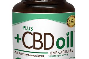 CBD Oil Capsules by market leader Plus CBD Oil™