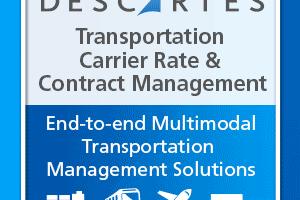 Carrier and Rate Management|Transportation Contract Management | Descartes
