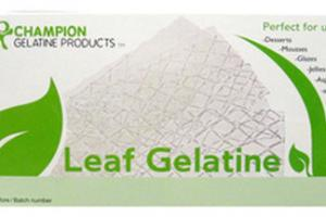 Champion's Leaf Gelatine - Welcome to Champion Gelatine Products