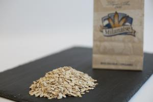 Organic Barley Flakes – La Milanaise