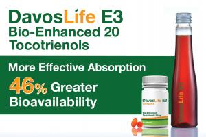 DavosLife E3 Bio-Enhanced 20 Tocotrienols | KLK OLEO | Davos Life Science