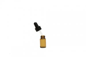 Amber Mini Essential Oil Dropper Bottles w/ Cap & Pipette – DropperBottles.com