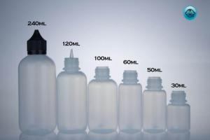 LDPE Big Mouth Boston (Case of 100-Includes Caps & Tips) – DropperBottles.com