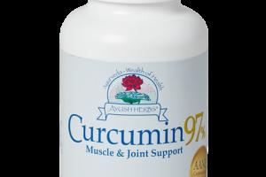 Curcumin 97%™ (90) | Ayush Herbs | Ayurvedic Herbal Medicine