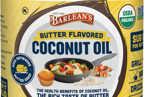 Organic Butter Flavored Coconut Oil