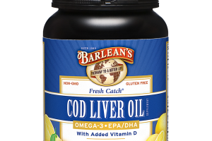 Fresh Catch® Cod Liver Oil Softgels