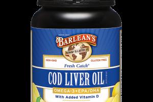 Fresh Catch® Cod Liver Oil Softgels