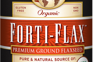 Organic Forti-Flax™    Flaxseed (Canister)