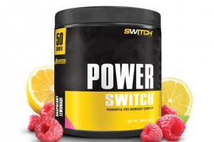 POWER SWITCH - Powerful Pre-Workout Complex - Switch Nutrition