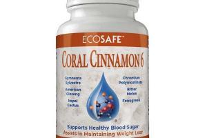 Coral Cinnamon6 243 Capsules - Coral Calcium