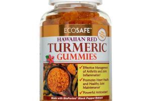 Hawaiian Turmeric Gummies - Coral Calcium