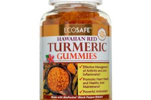 Hawaiian Turmeric Gummies - Coral Calcium
