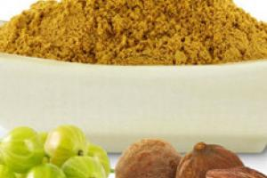 Organic Triphala Powder - Shining Seas Imports