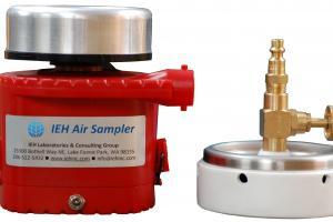 The Air Sampler | Microbiologique