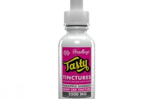Tasty Tinctures by Bradley's Brand – Pineapple Sherbert | Isodiol