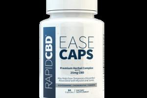 RapidCBD Ease Caps | Isodiol
