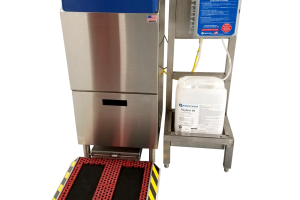 Sole Clean Dry Step for Dry Food Production | Meritech
