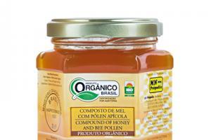 Organic Compound of Honey with Pollen 200g - MN Própolis
